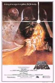 """На втором месте по зрительским симпатиям американцев - космическая эпопея Джорджа Лукаса """"Звездные войны"""", снятая в 1977 г."""