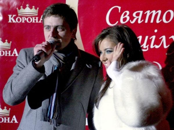 Диджей Паша с красным носом и доброжелательная Ани Лорак