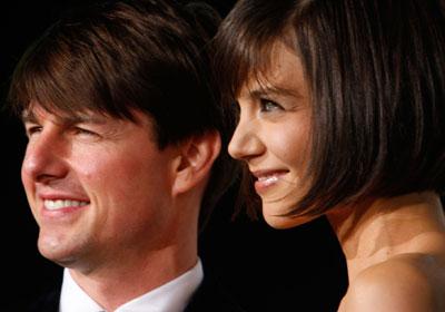 … а также Кэти Холмс и Том Круз.