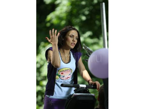 Надя Ручка и скутер