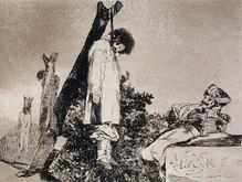 В экспозицию вошли 160 гравюр Гойи