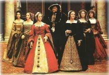 Генрих VIII с женами