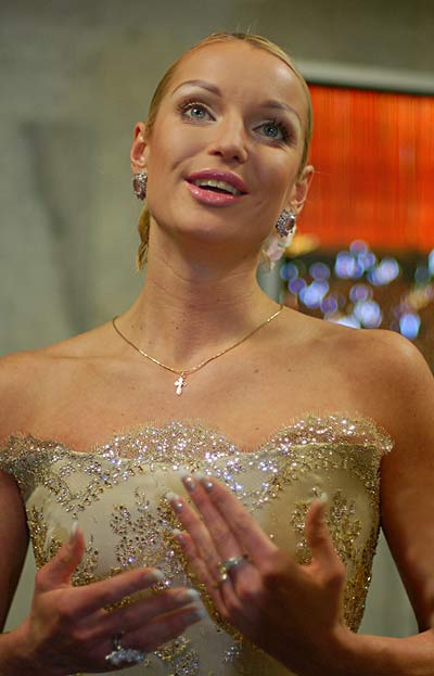 Анастасия Волочкова сходила на свидание со своим танцором