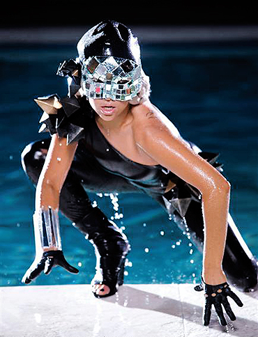 Lady GaGa дала концерт в Nokia Theatre. Фото