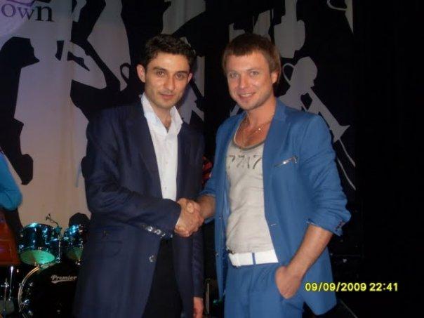Табриз Шахиди и Петр Дмитриченко
