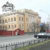 Здание библиотеки университета Шевченко