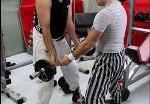 Молочный и Притула стали бодибилдерами. Фото