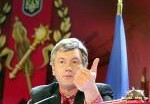 Виктор Ющенко отдал в музей серебряную карту Татарстана