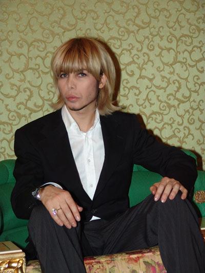 Сергей Зверев поведал историю своего превращения в брюнета