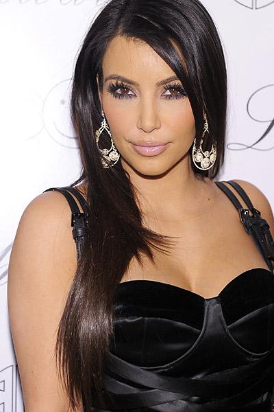 Сексапильная Ким Кардашян показала себя во всей красе