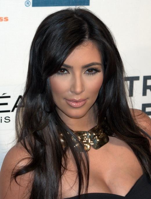 Ким Кардашян бросилась в объятия к тигру