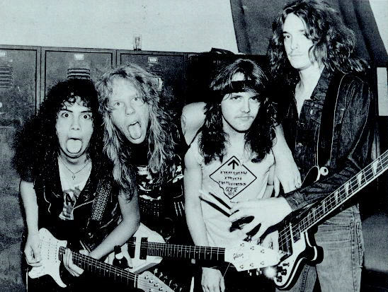 The Rolling Stones спасли группу Metallica от распада