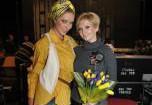 Катя Осадчая провела день с Валерией
