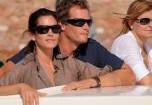 Джордж Клуни провел выходные с Синди Кроуфорд