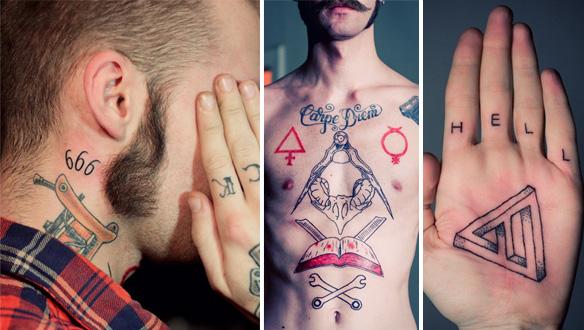 Татуировки Йена, сделанные другими авторами