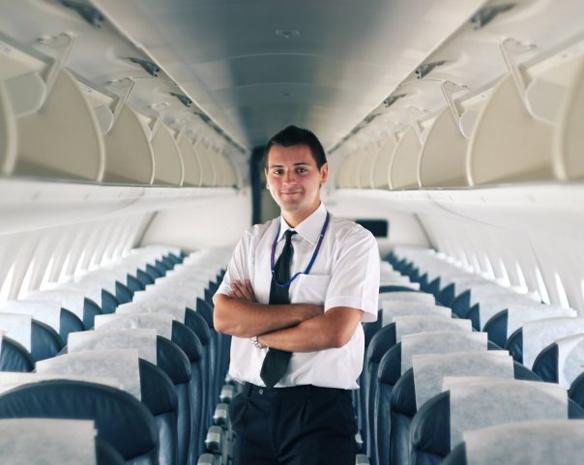 Стюардесса самолет секс