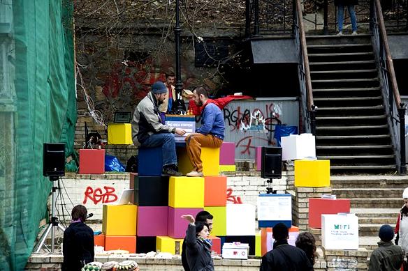 Голос улиц, Андреевский спуск 22б, апрель 2011