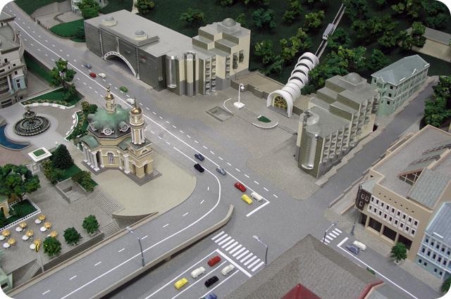 Модель площади Почтовая