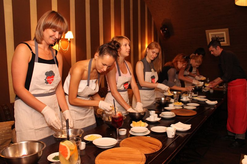 Мастер классы по приготовлению блюд москва