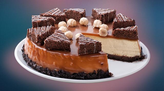 Чизкейк «Брауни»: идеально сочетающийся с кофе чизкейк «Брауни» создается на основе одноименного бисквита «Брауни» (245 грн.).