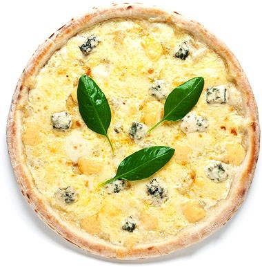 Пицца Кваттро формаджио (Четыре сыра)