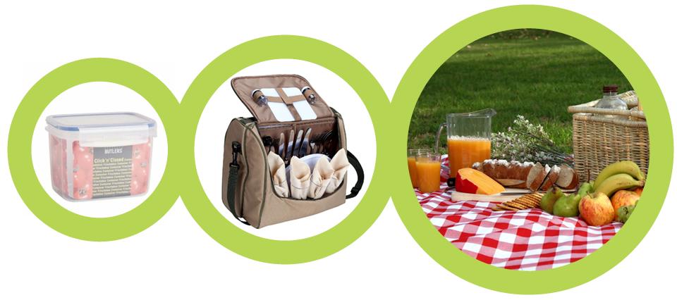 Едем на пикник, сумка для пикника, контейнер для продуктов