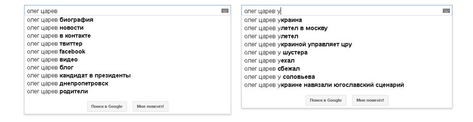 Царев, Google
