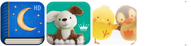 Mobile apps, приложения, Кто украл Луну, Nuggets, Hallmark, Little Piyo's Friend