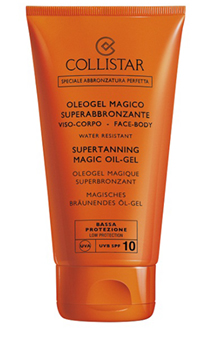 Collistar, Collistar Supertanning Magic Oil-Gel spf 10 NEW