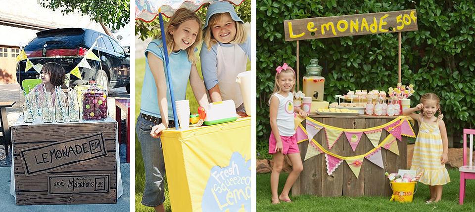 развивающие игры, лимонад