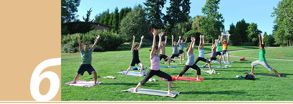 Йога, Free Yoga, Мариинский парк