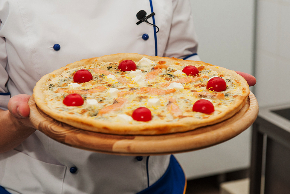 пицца, пицца с лососем и фетой, хит продаж, eda.ua