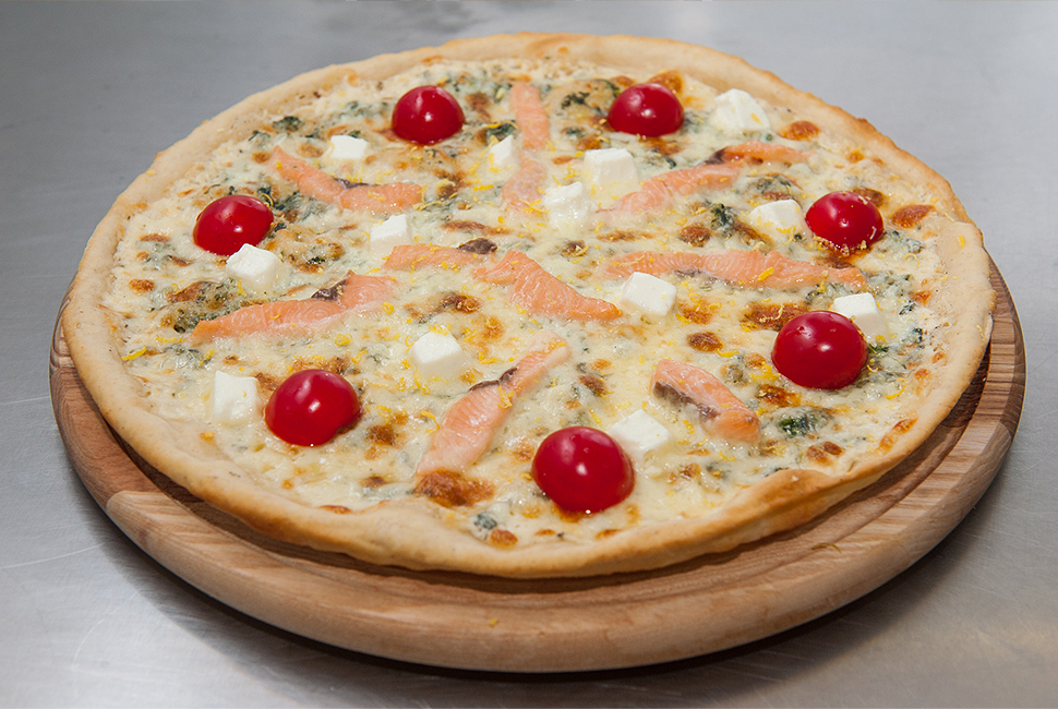 пицца с лососем и фетой, хит продаж, eda.ua