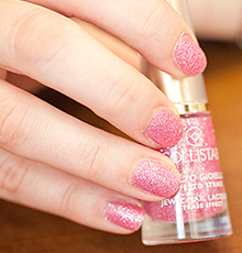 Collistar, Jewel Nail Lacquer Strass Effect #639 Rosa Strass