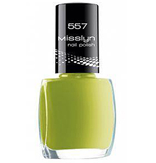Misslyn, #45 lemon green