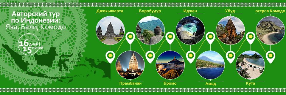 Индонезия, туры, путешествия