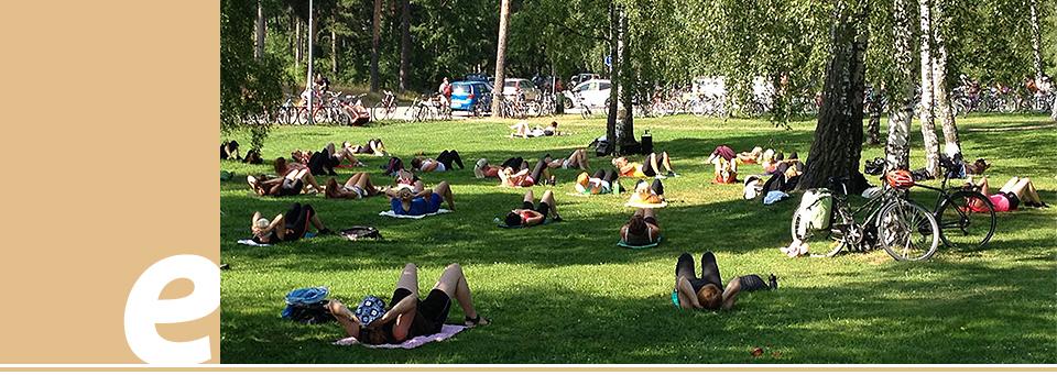 Йога, пилатес, Голосеевский парк