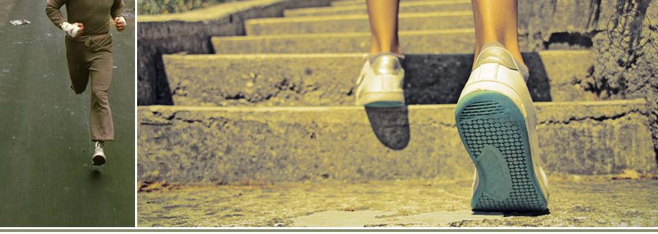 бег, ступеньки. атлетика