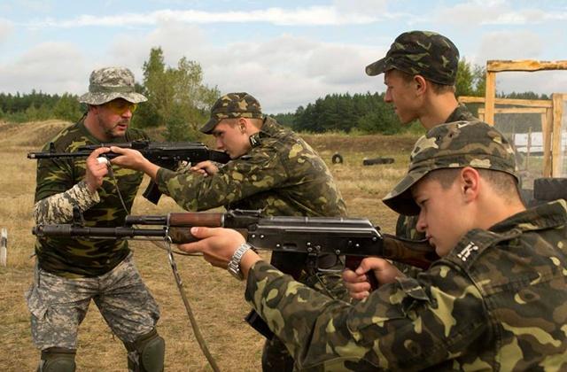 Киев, военная подготовка