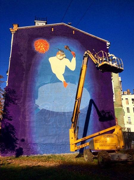 Граффити, Киев