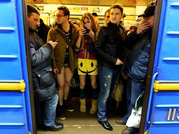 Киев, проезд в метро