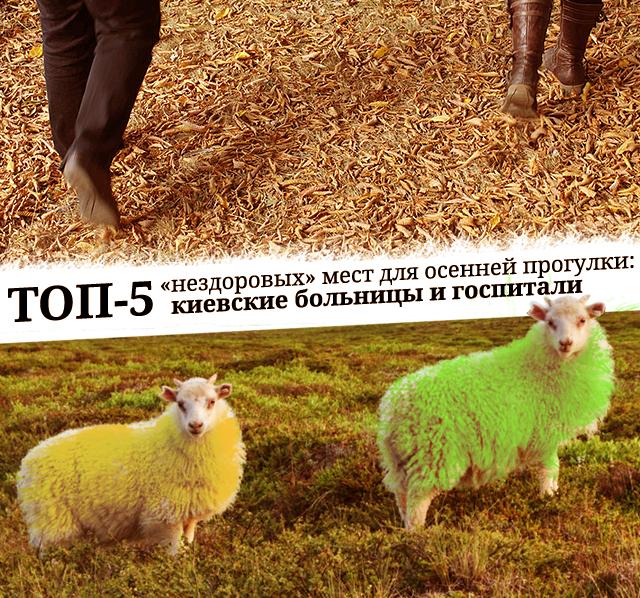 ТОП-5 «нездоровых» мест для осенней прогулки: киевские больницы и госпитали