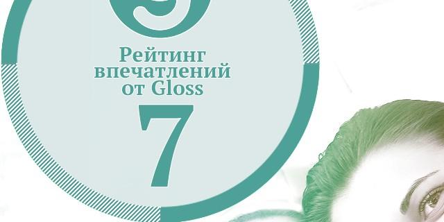 Рейтинг впечатлений недели от Gloss.ua #7
