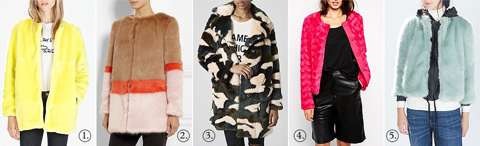 Zara, Shrimps, Vero Moda, Topshop