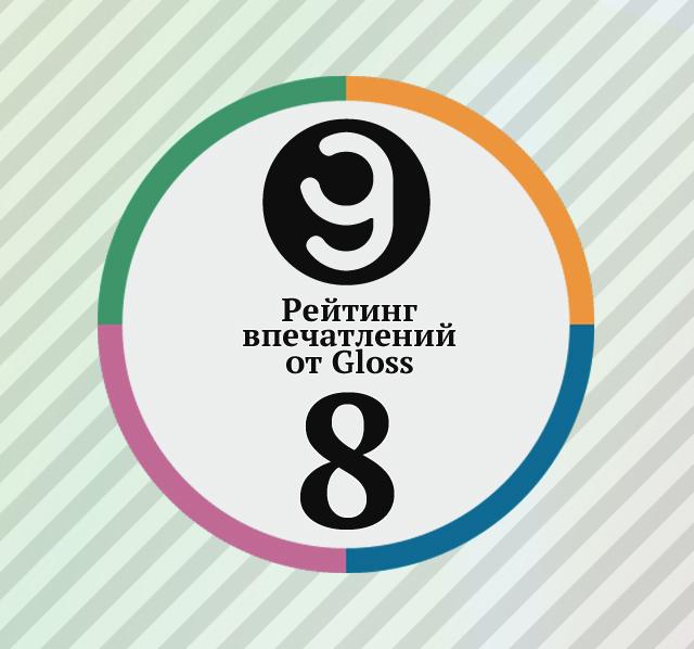Рейтинг впечатлений недели от Gloss.ua #8