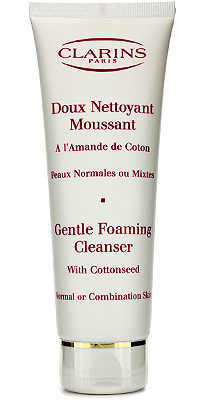 Clarins Gentle Foaming Cleanser with cottonseed, Clarins