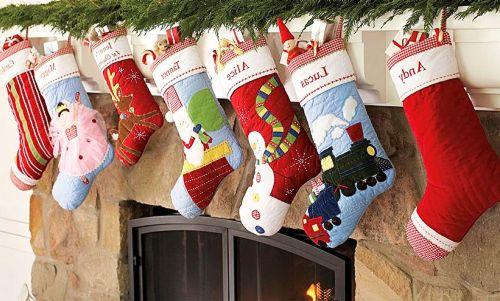 Носок для подарков своими руками с фото