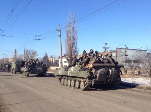 ВСУ, Дебальцево, ДНР, война в Украине