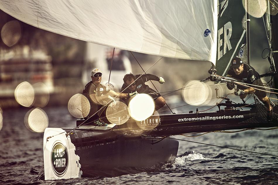 extreme sailing series, яхта
