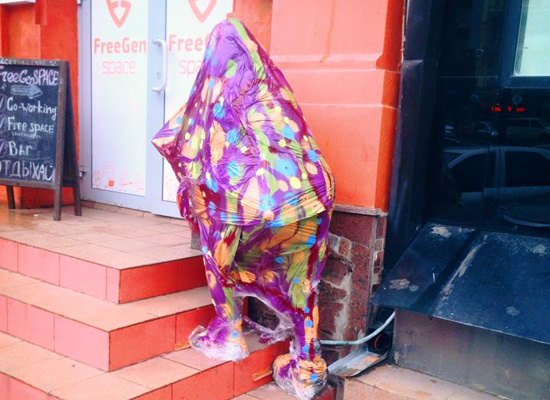 Интерактивную скульптуру Гика установят в центре города в эту пятницу